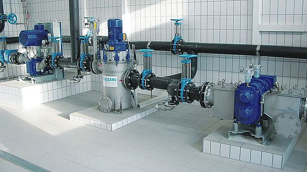 RotaCut - the waste water macerator by Vogelsang