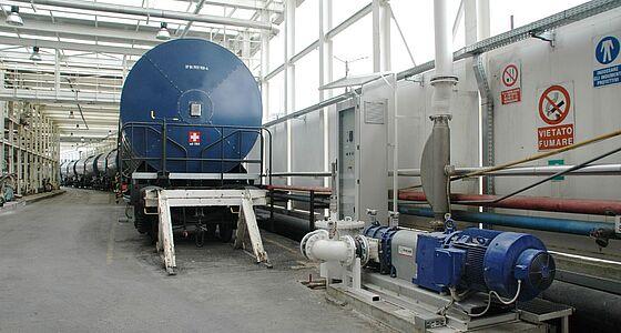 RotaCut – le dilacérateur d'eaux usées de Vogelsang