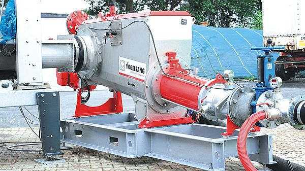 CC-Mix - solid matter feeder by Vogelsang