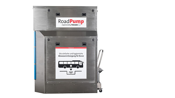 RoadPump Plus — Vogelsang's simple, hygienic, and environmentally friendly solution for disposing of wastewater from intercity buses
