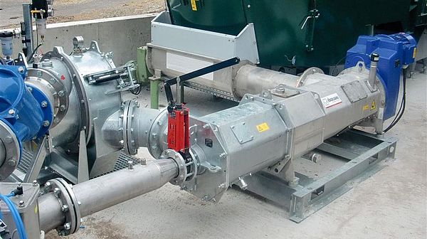 Solid matter feeder EnergyJet EJ-CS by Vogelsang