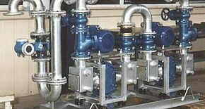 1996 – Development of vacuum disposal plants
