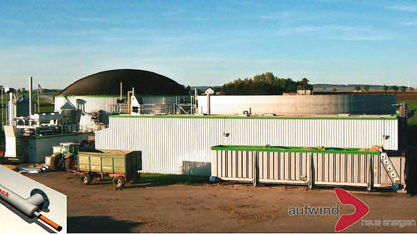 Hedeper biogas plant, Germany