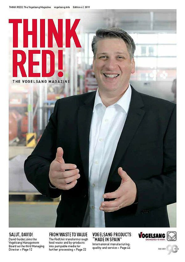 THINK RED - the Vogelsang magazine