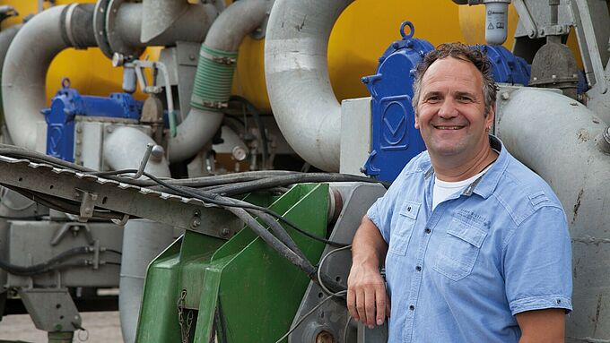 Agriculture - Customers speak for themselves. Owner Stefan Trinkies and his 28 employees know what reliability means