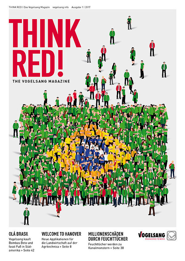 THINK RED – das Vogelsang-Magazin