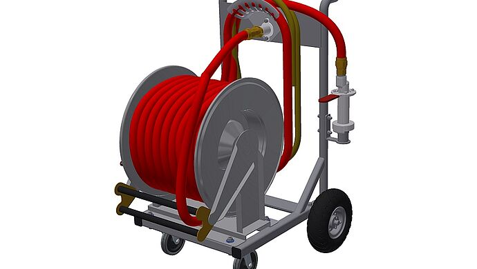 ReelUnit M by Vogelsang - Hose reel systems for railway supply and disposal systems