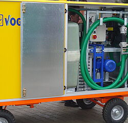 MobileUnit by Vogelsang - Mobile waste water disposal solutions for the railway sector