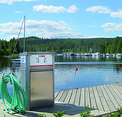 PierPump - waste water disposal for boats and yachts by Vogelsang