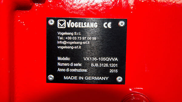 Vogelsang serial number