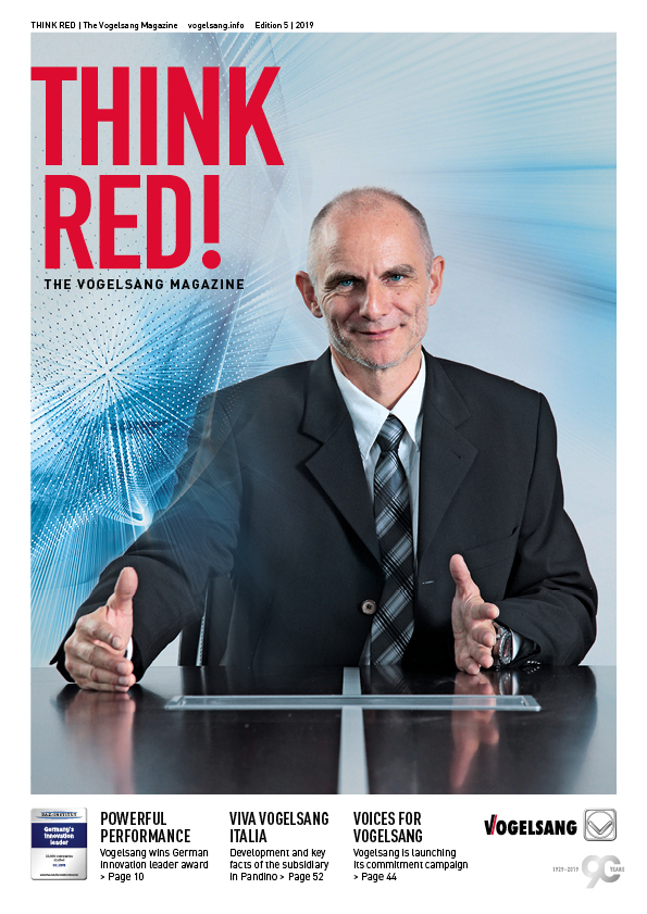 THINK RED – The company magazine by Vogelsang