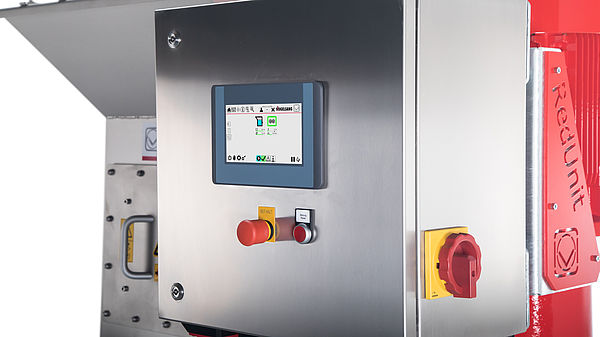 Intelligent control system for the RedUnit by Vogelsang