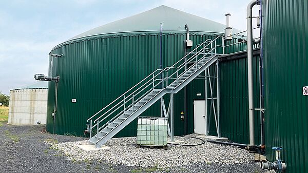 Digester of BioCore AD plant in Roscommon, Ireland
