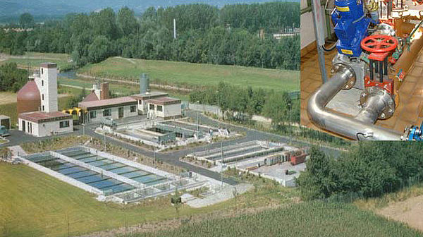 Willstaett sewage treatment plant