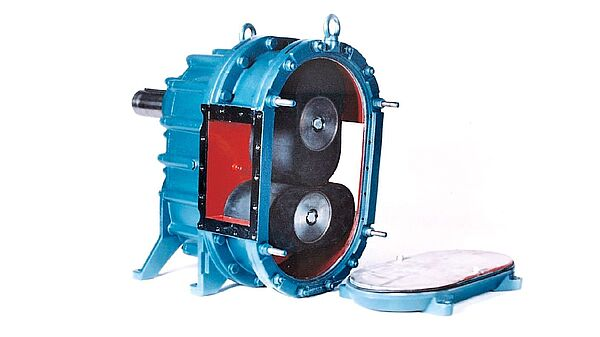 QuickService rotary lobe pumps