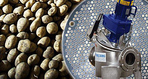 Case Study - Potato processing industry - RotaCut RC3000 Inline