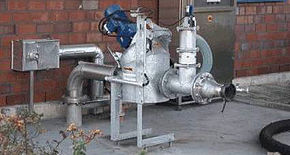 Case Study - Sewage treatment plant in Krefeld - RotaCut RC5000 Inline