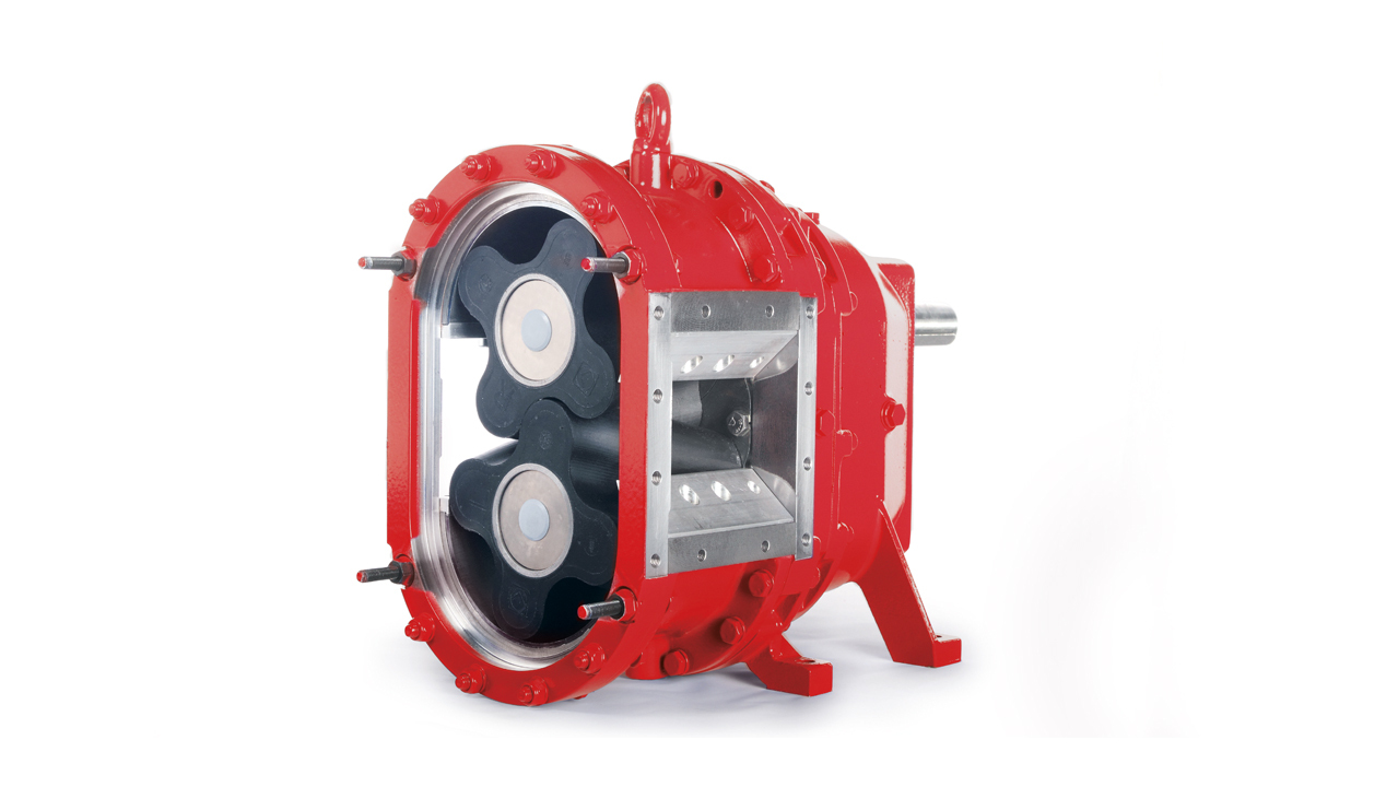 VX series rotary lobe slurry pump