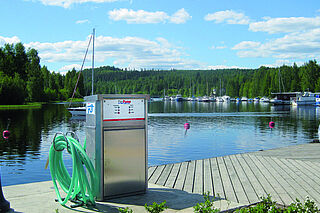 PierPump - Wastewater disposal for boats and yachts by Vogelsang