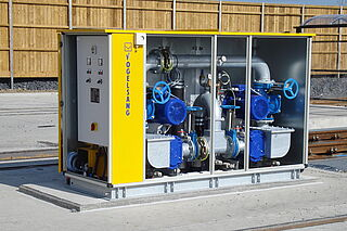 [Translate to Italiano:] VacUnit - The pump station for wastewater systems by Vogelsang