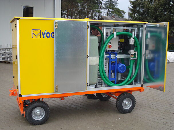 MobileUnit by Vogelsang - Mobile solutions for the disposal of waste water