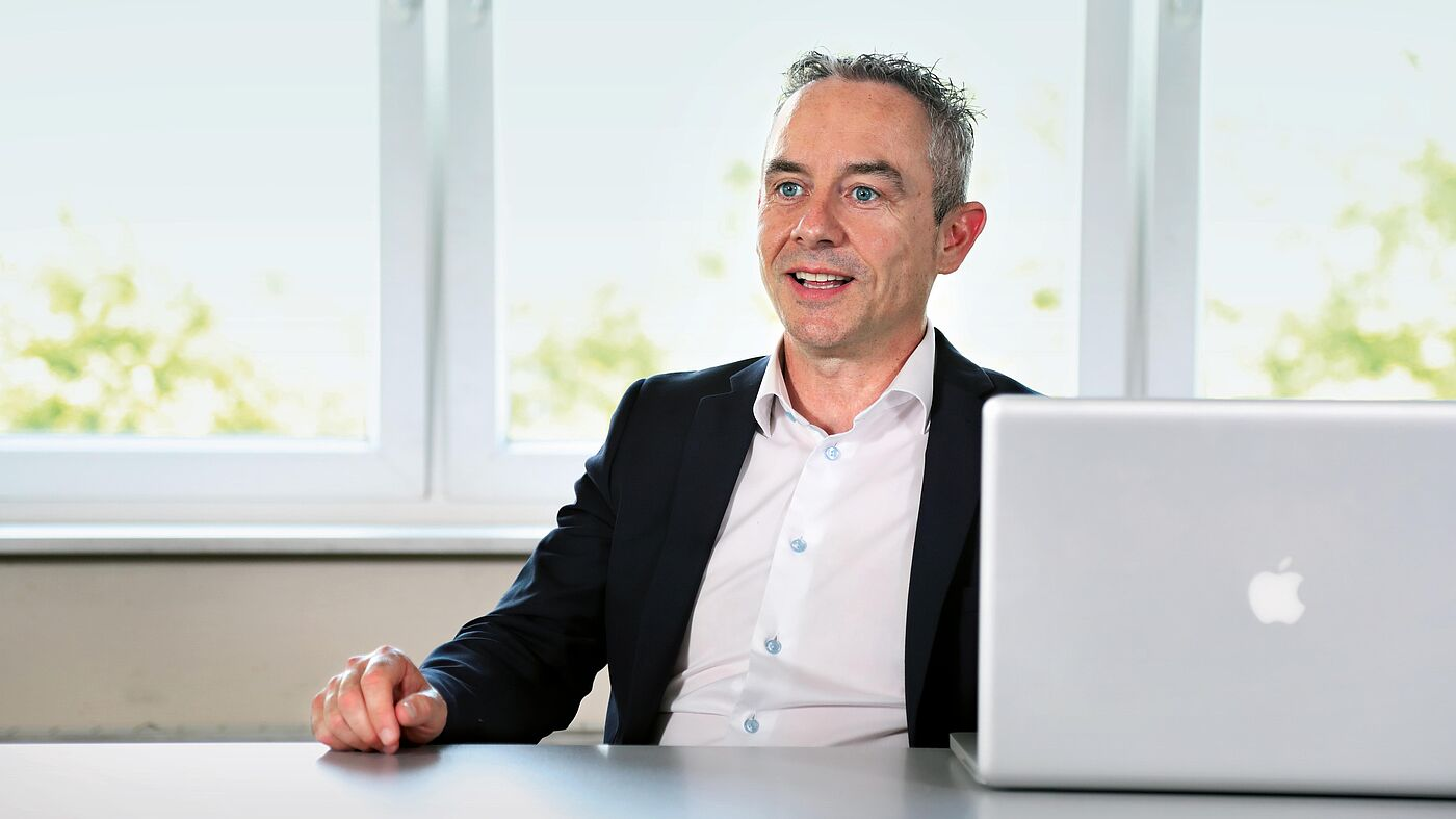 Mark Hughes, Managing director of Vogelsang Ireland