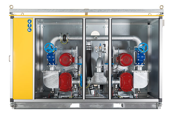 VacUnit by Vogelsang - Reliable pump technology for vacuum wastewater disposal