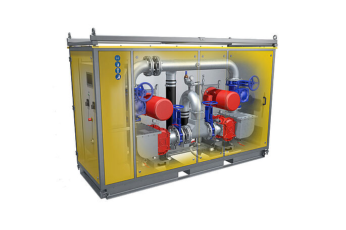 VacUnit DP by Vogelsang - Reliable pump technology for vacuum wastewater disposal