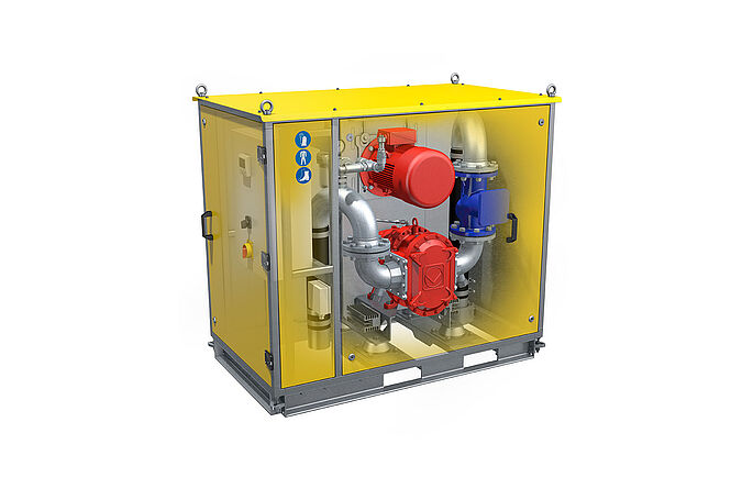 VacUnit SP by Vogelsang - The single vacuum pump station