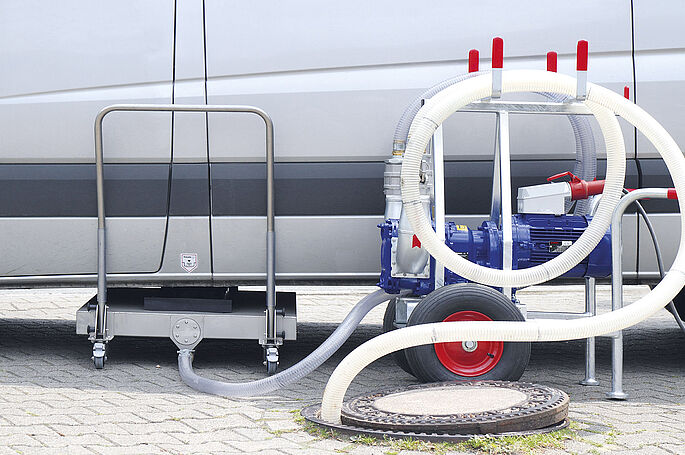 RoadPump Eco by Vogelsang - The mobile solution