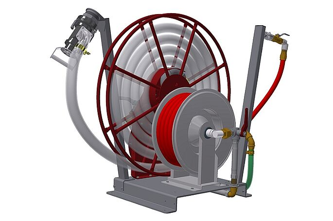 ReelUnit S by Vogelsang - Hose reel systems for railway supply and disposal systems