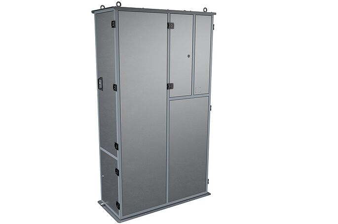 CleanUnit MSV7 – the durable cleaner cabinet by Vogelsang