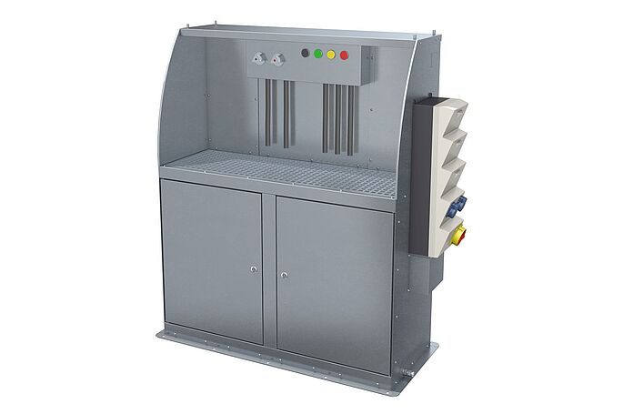 CleanUnit MSV10-500 – the ergonomic cleaner cabinet by Vogelsang