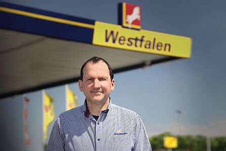 Frank Wadlinger, Westfalen petrol station, Germany