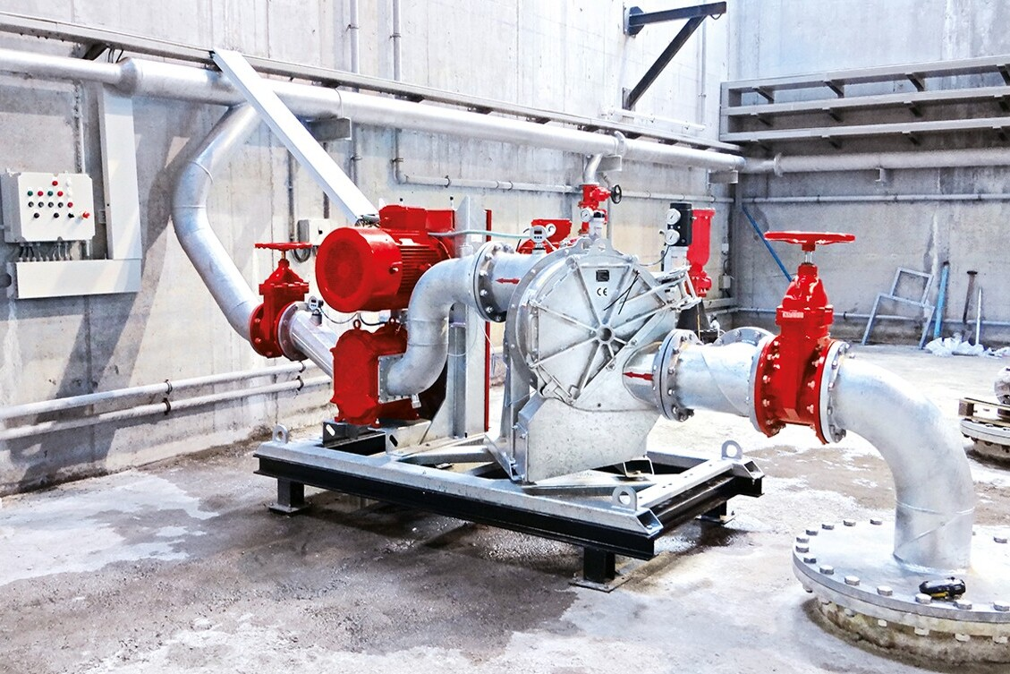 Combined grinding and pumping technology with Vogelsang pump systems