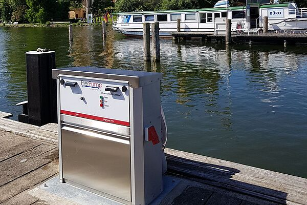 Vogelsang PierPump for disposal of wastewater from boats