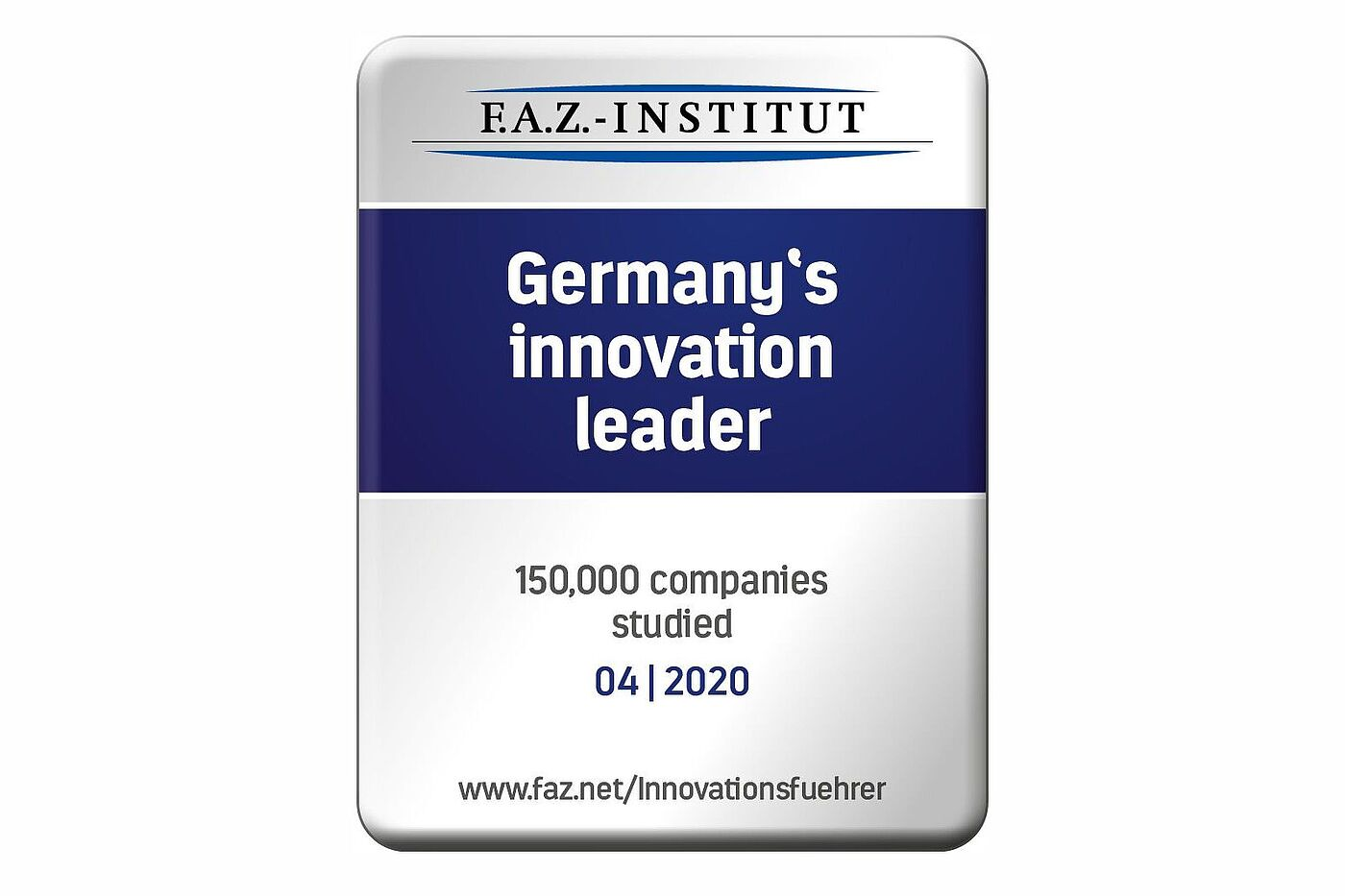 Vogelsang – German innovation leader 2020