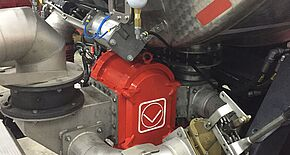 Gearless rotary lobe pump of the GL series by Vogelsang