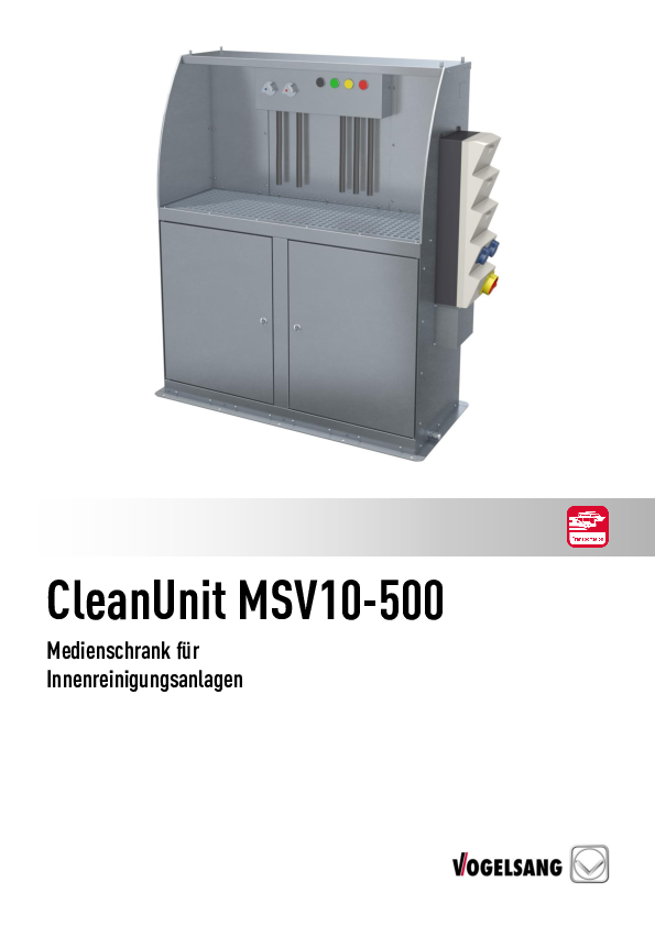 CleanUnit MSV10-500