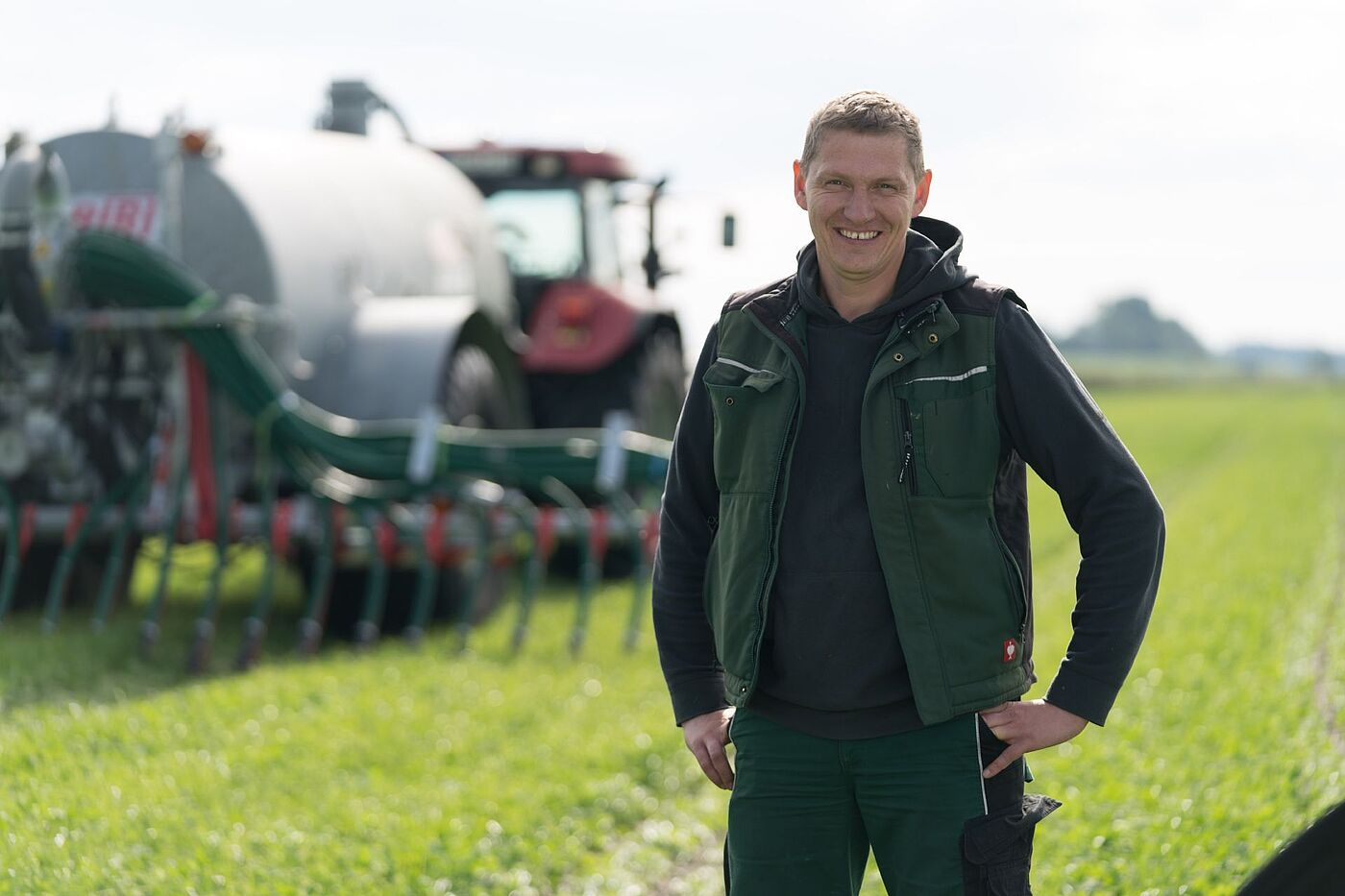 Jan Haase, Operating Manager of the Haase farm, Germany