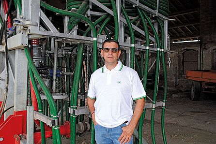 Paolo Bizzoni, owner of Agricultural Farm Fratelli Bizzoni, Italy