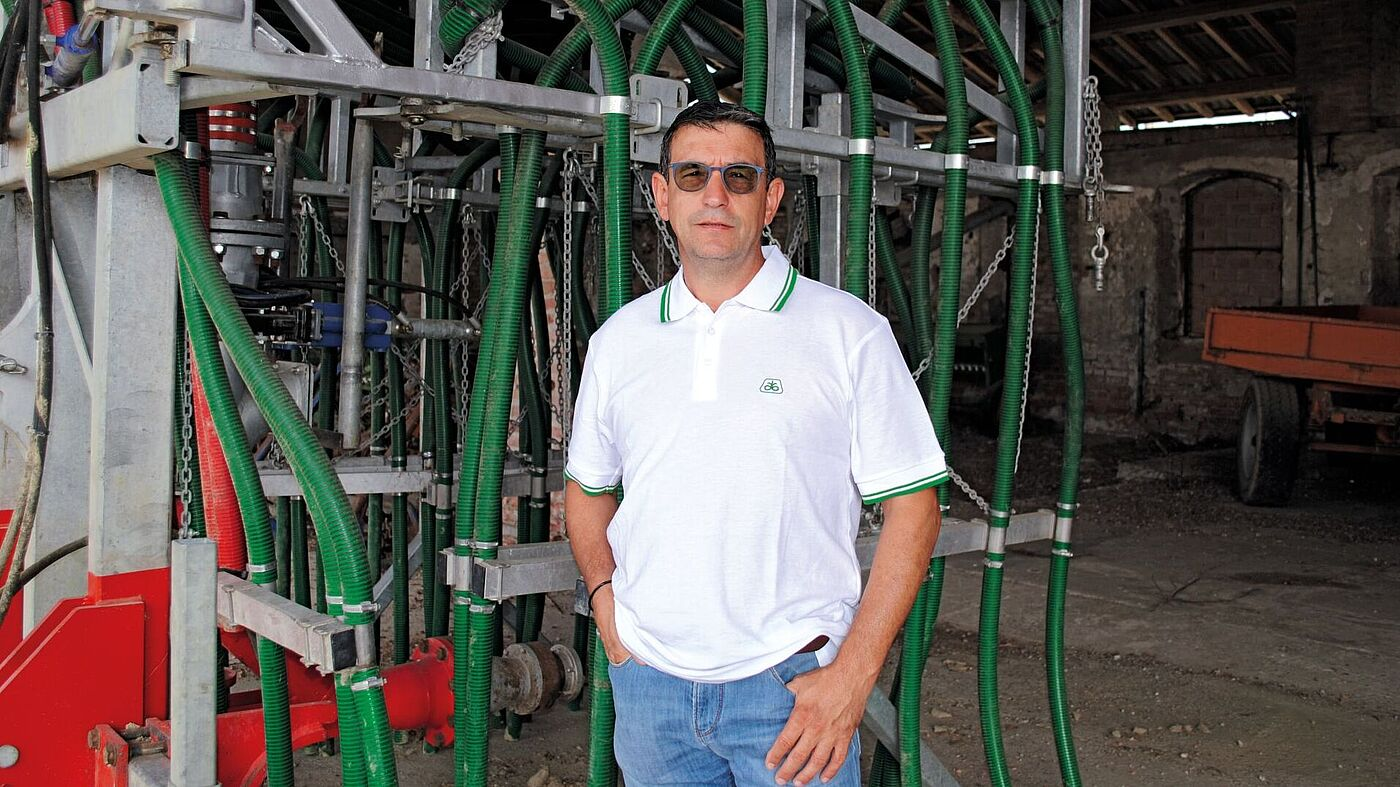 Paolo Bizzoni, Owner of Agricultural Farm Fratelli Bizzoni