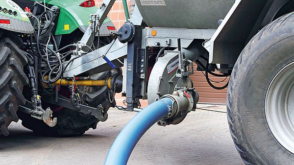 PowerFill - the filling aid for vacuum tankers by Vogelsang